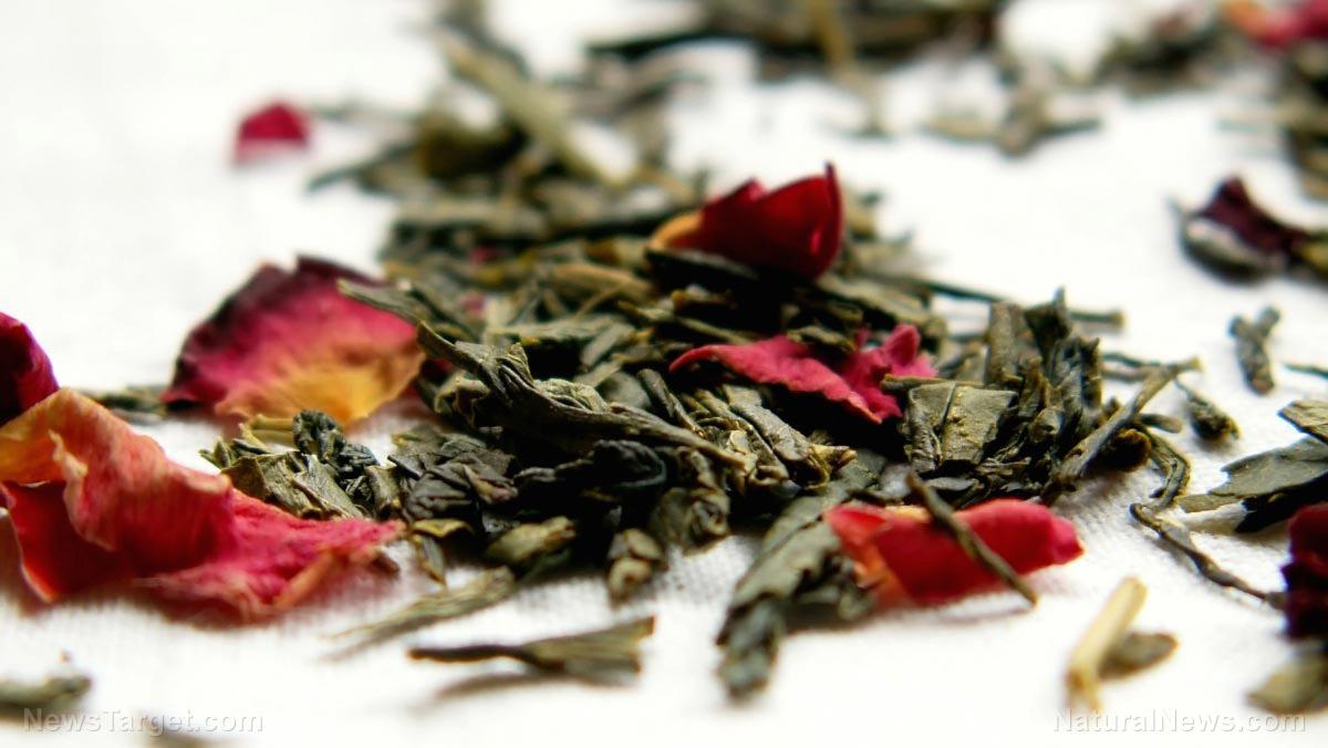 圖像:綠茶營養被發現成功治療疤痕,當用於奶油