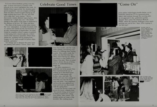 Kavanaugh Accuser Blasey Ford High School Yearbooks