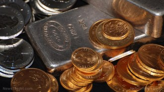 Image: Credit card companies now blocking Americans from buying gold or silver