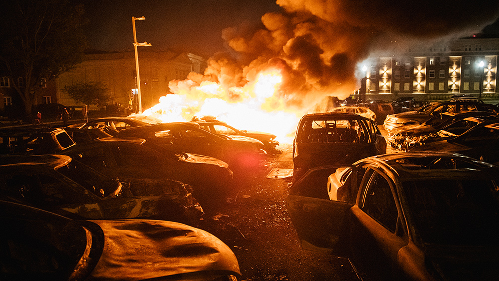 Image: AG Barr: Experienced Antifa militants are flying around the country to instigate rioting