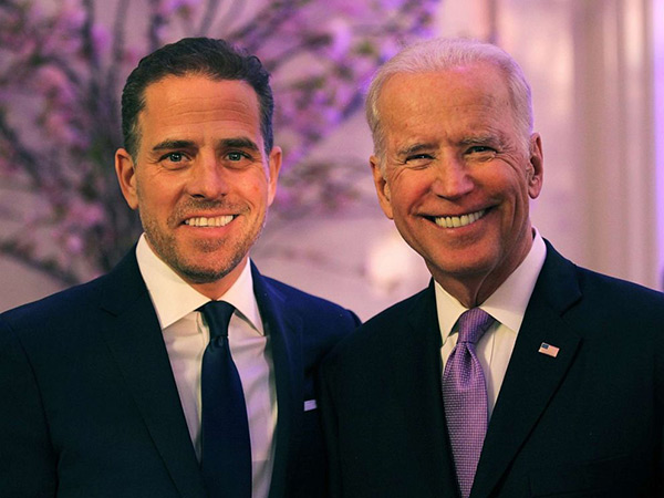 Image: BOMBSHELL: Hunter Biden, Joe Biden built an international crime syndicate with ties to human trafficking organizations, prostitution, money laundering, bribery and extortion