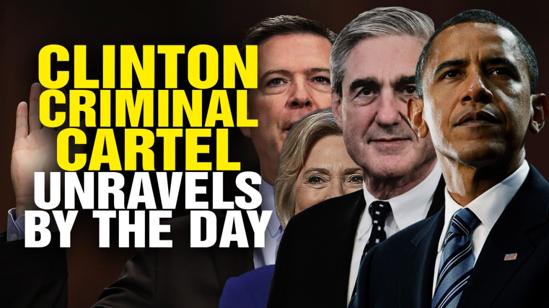 """Image: BOMBSHELL: Newly declassified docs reveal Hillary Clinton plotted the """"Russian collusion"""" hoax against Trump while CIA's Brennan briefed Obama about it"""
