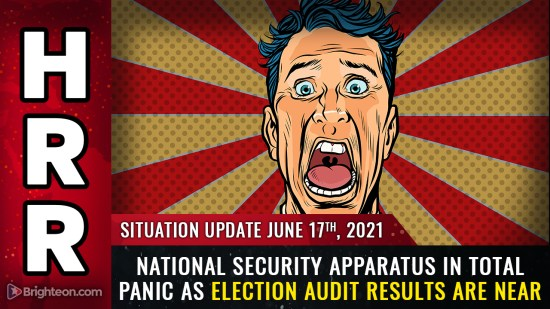 Image: National security apparatus in total panic over election audit results, rising backlash against tyranny and corruption