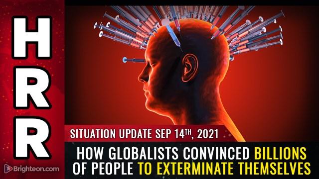 """Zdjęcie: VAXSSASSINATION: Jak globaliści przekonali MILIARDY ludzi do eksterminacji za pomocą broni biologicznej przedstawianej jako """"szczepionki"""""""