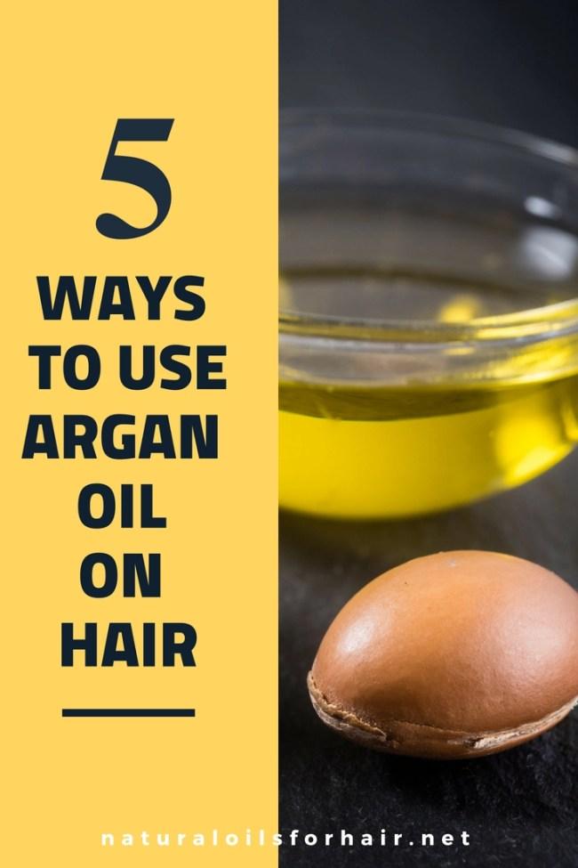 5 ways to use argan oil on hair