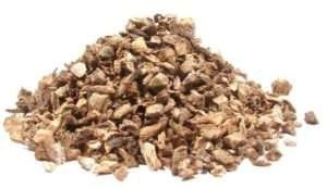 dried burdock root