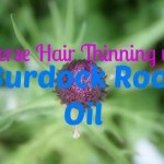 Reverse Hair Thinning with Burdock Root Oil