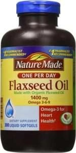 Nature Made Organic Flaxseed Oil for hair growth