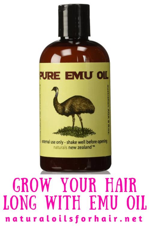 Grow Your Hair Long with Emu Oil