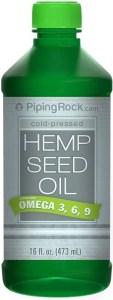 piping rock hemp seed oil
