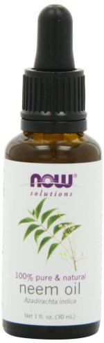 100% pure now foods neem oil