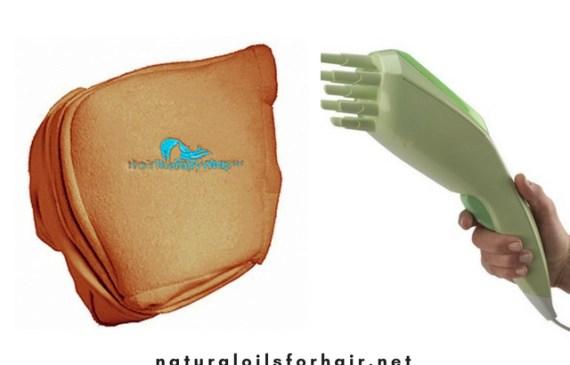 Qredew handheld steamer vs hair therapy wrap. Which is best for hair steaming