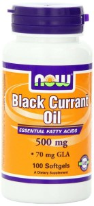 now foods black currant seed oil