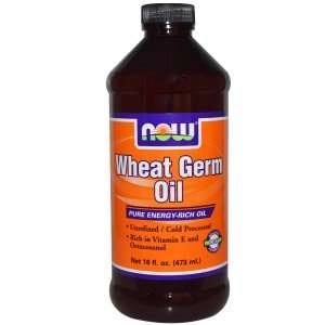 Now foods wheat germ oil