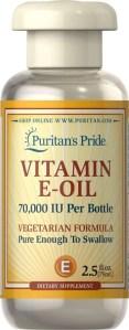 puritans pride vitamin e oil