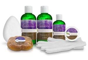 Christina Moss Naturals Skin & Hair Care Products Set