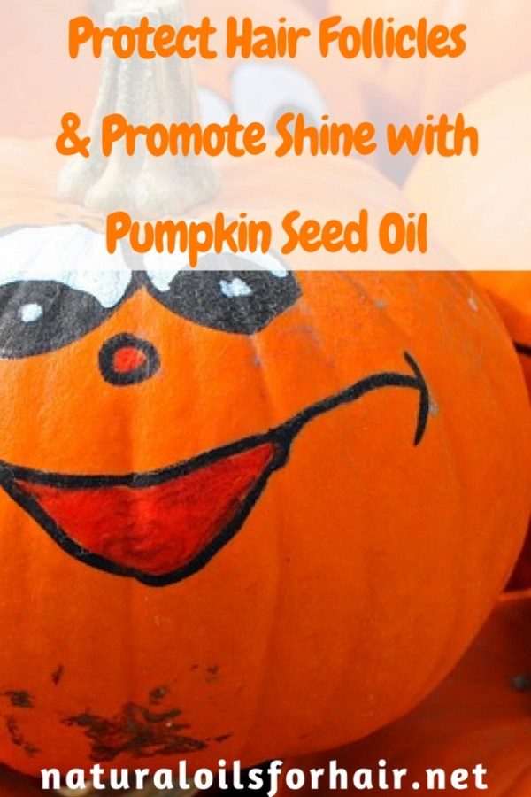 Protect Hair Follicles & Promote Shine with Pumpkin Seed Oil