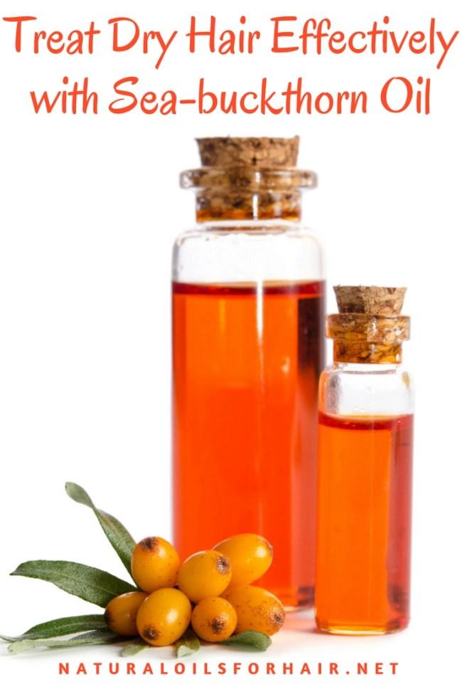 Treat Dry Hair Effectively with Sea-buckthorn Oil