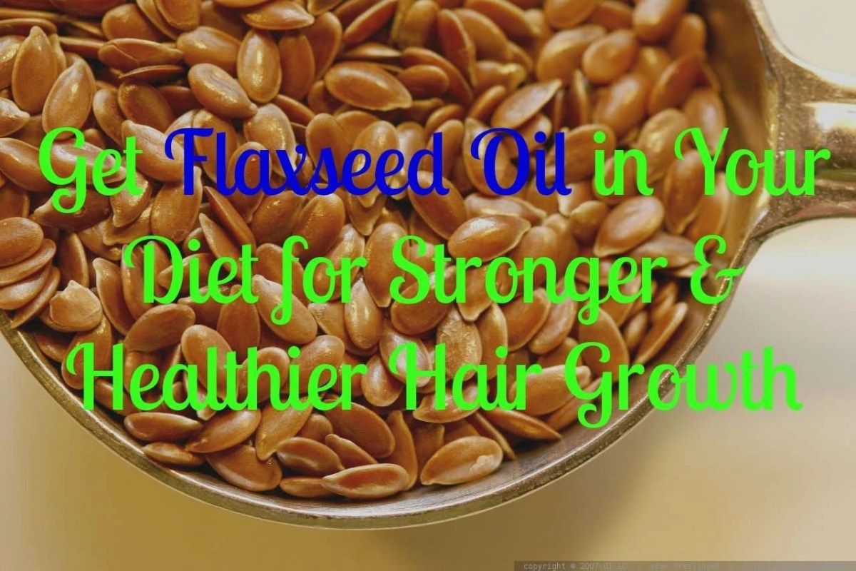 Get Flaxseed Oil In Your Diet For Stronger Amp Healthier