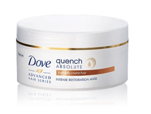 dove quench absolute restoration mask