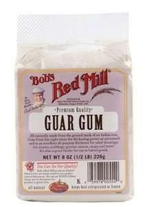 Bob's Red Mill guar Xanthan for hair gel
