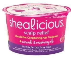 Shealicious Scalp Relief Shea Butter Conditioning Treatment with Avocado & Rosemary Oils