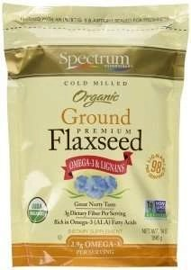 spectrum essentials organic flax seed