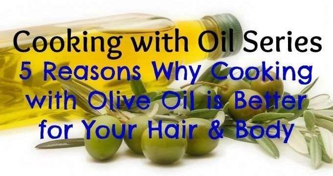 why you should cook with olive oil