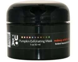 makeup artist's choice pumpkin exfoliating mask