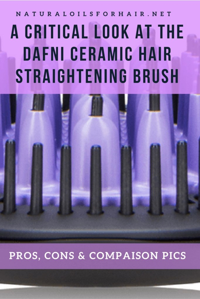 Considering hair straightening brushes? Read a breakdown of the pros, cons with comparison pics