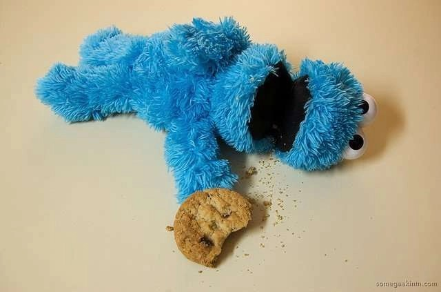 cookie monster helps with black friday deals