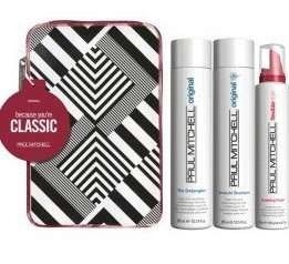 Paul Mitchell Because You're Classic Trio, Awapuhi Sampoo_Detangler_Sculpting Foam, Gift Set