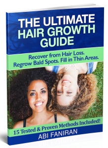 how to grow back bald spots