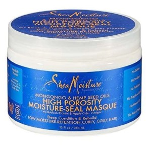 SheaMoisture Mongongo & Hemp Seed Oils High Porosity Moisture Seal Masque