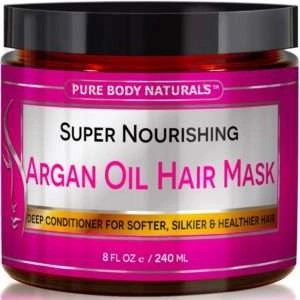 pure body naturals Argan Oil Hair Mask