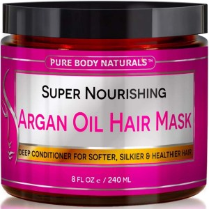 pure body naturals Argan Oil Hair Mask