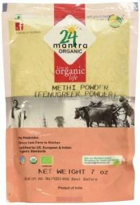 24 Mantra Organic Fenugreek Powder