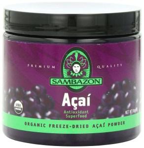 Sambazon Organic Freeze-Dried Acai Powder,