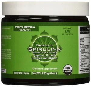Triquetra Health Organic Spirulina Powder