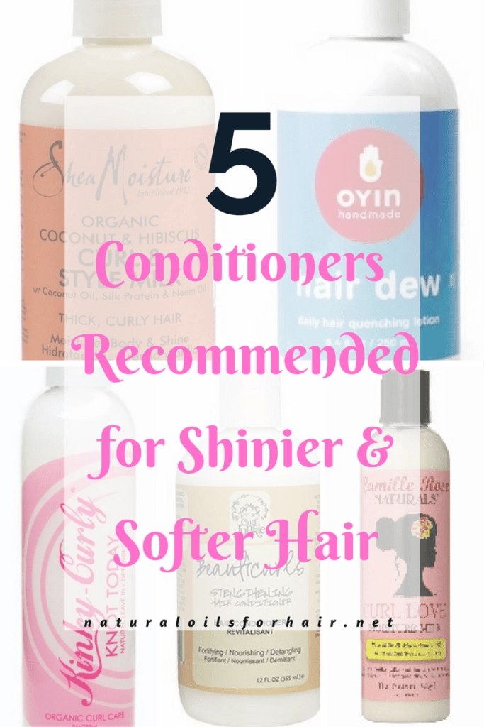 5 Conditioners Recommended for Shinier and Softer Hair
