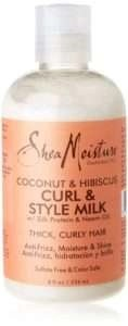 shea moisture curl and style milk