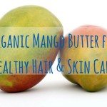Organic Mango Butter for Healthy Hair & Skin Care