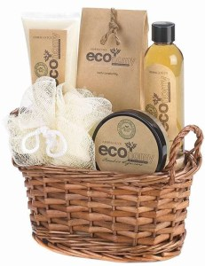 Eco Bath Body Gift Basket Set