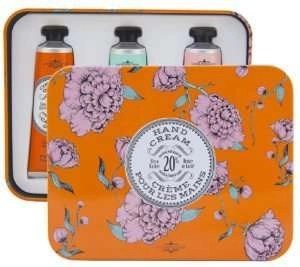 La Chatelaine Shea Butter Hand Cream Tin Gift Set