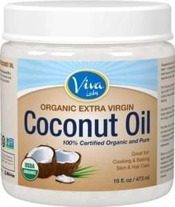viva labs organic coconut oil