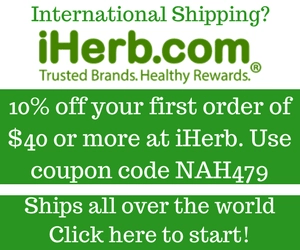 iherb healthy products skin hair beauty
