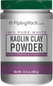piping rock kaolin clay powder