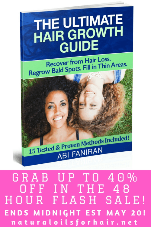 The Ultimate Hair Growth Guide Flash Sale 40% Off