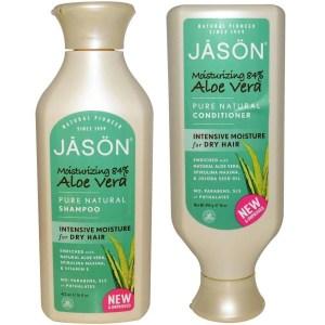 Jason Organics Naturals Aloe Vera Hair Shampoo and Conditioner