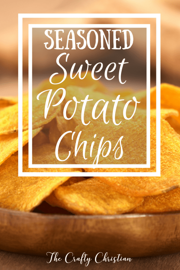 We had a huge sweet potato crop this year, and I was running out of ideas for what to do with them. These sweet potato chips are amazing and delicious and even the kids will eat them. Automatic winner in my book!